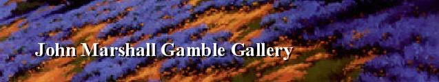 John Gamble Gallery ~ Mailing List